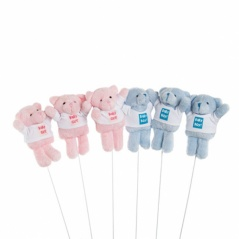 "piques peluches 10 cm ""baby boy"" ""baby girl"""