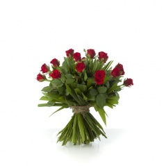 bouquet de 25 roses rouges